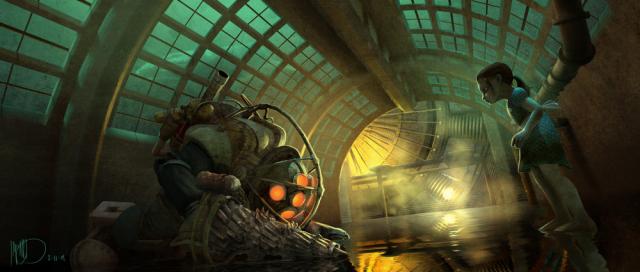 """Zobacz szkice koncepcyjne z ekranizacji gry """"BioShock"""""""