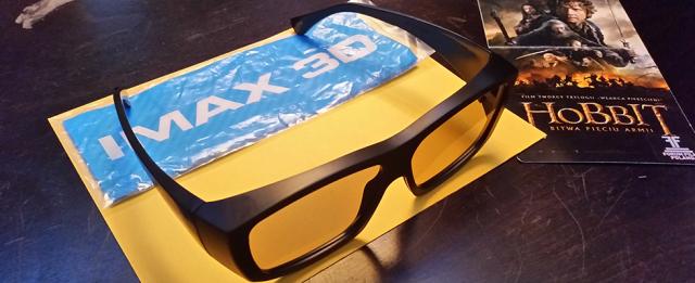 Okulary IMAX 3D 2014 i najnowszy Hobbit
