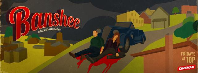 """Spoilerowy plakat zapowiadający finał """"Banshee"""""""