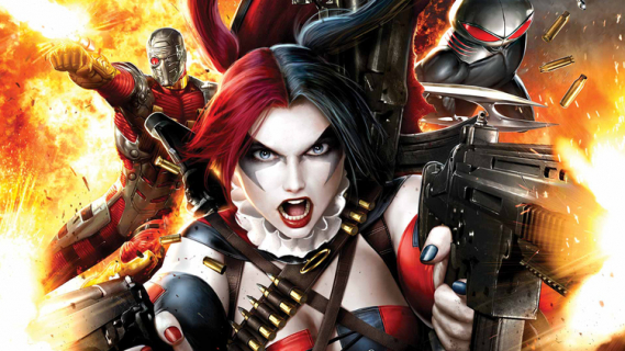 """Oto oficjalne zdjęcie tytułowej grupy z filmu """"Suicide Squad'. Bohaterowie w kostiumach!"""