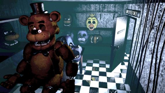 """Powstaje horror na podstawie gry wideo """"Five Nights at Freddy's"""""""