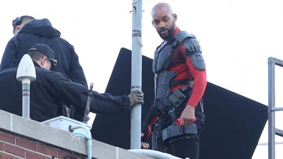 """""""Suicide Squad"""" – lepsze spojrzenie na bohaterów na nowych zdjęciach z planu"""