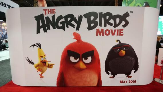 """""""Angry Birds"""" – pierwsze plakaty filmu animowanego"""
