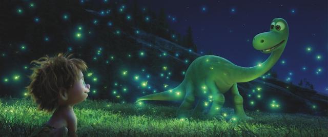 "Animowany plakat filmu ""Dobry dinozaur"""