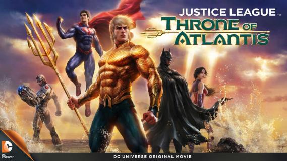 """""""Liga sprawiedliwości: Tron Atlantydy"""" DVD – recenzja"""