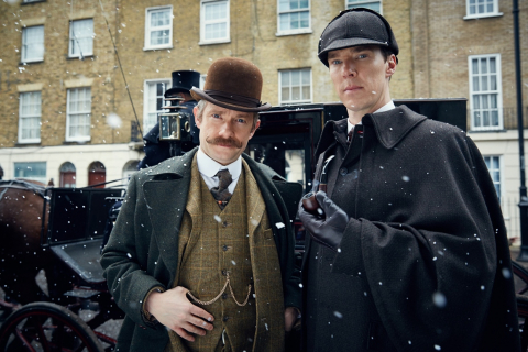 Sherlock – dobra oglądalność odcinka specjalnego