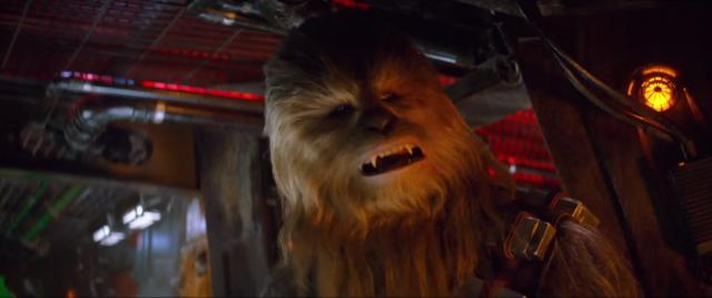 Gwiezdne Wojny: Skywalker. Odrodzenie - Chewbacca miał spotkać się z Kylo Renem. Zobacz szkic