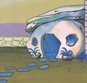 Flintstonowie według twórcy Hellboya. Dino wygląda groźnie