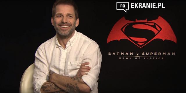 Zack Snyder dla naEKRANIE.pl – obejrzyj wywiad z reżyserem Batman v Superman