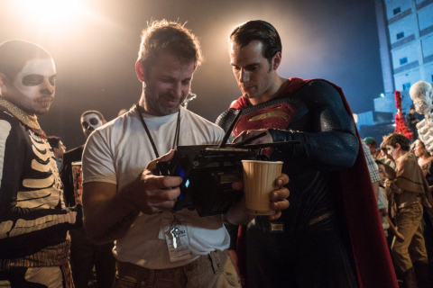 Zack Snyder reżyserował krótką scenę Legionu samobójców