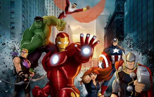 Animacja Avengers: Zjednoczeni od jutra na antenie PULS 2