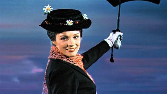 Julie Andrews nie wystąpi w filmie Mary Poppins Returns