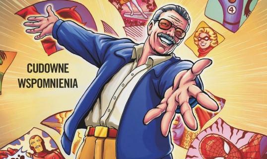 Obejrzyj plansze z komiksowej biografii Stana Lee