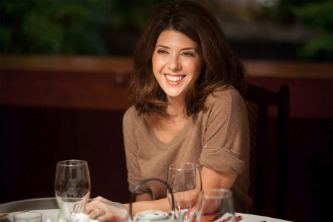 Marisa Tomei u boku Roberta De Niro w The War With Grandpa