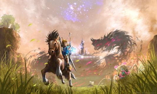 The Legend of Zelda: Breath of the Wild z premierą dopiero latem?