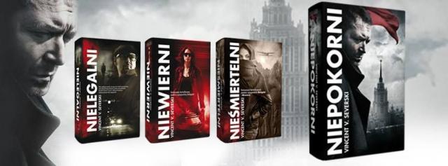 Canal+ nabył prawa do ekranizacji serii szpiegowskiej Vincenta V. Severskiego