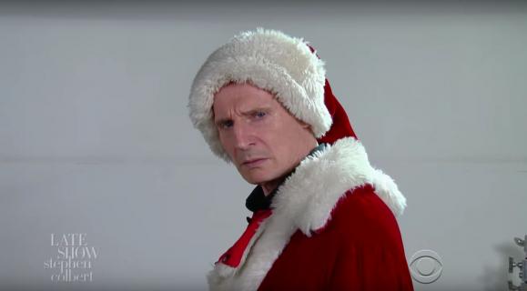 Humor: Liam Neeson na przesłuchaniu do roli Św. Mikołaja