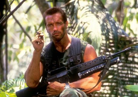 Powrót do przeszłości: Zobacz zdjęcia z planu filmu Predator