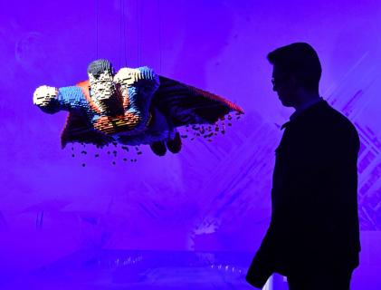 Superbohaterowie z klocków LEGO – zobacz zdjęcia z unikatowej wystawy