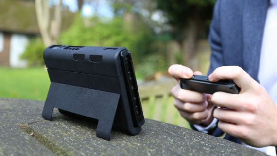 Nintendo Switch z 12-godzinną pracą na baterii dzięki specjalnej obudowie