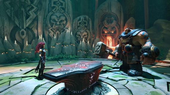 Darksiders III: Nowy gameplay prezentuje starcie z bossem