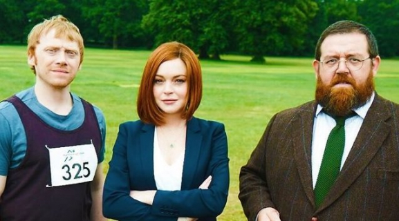 Lindsay Lohan i Rupert Grint w nowym brytyjskim sitcomie Sick Note
