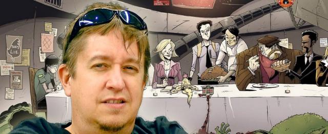 Sędzia Dredd to swój chłop – rozmawiamy z Johnem Laymanem, autorem serii Chew