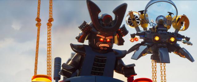 Plakaty bohaterów LEGO Ninjago: Film