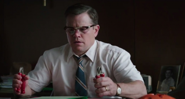 Matt Damon i Julianne Moore w nowym zwiastunie Suburbicon
