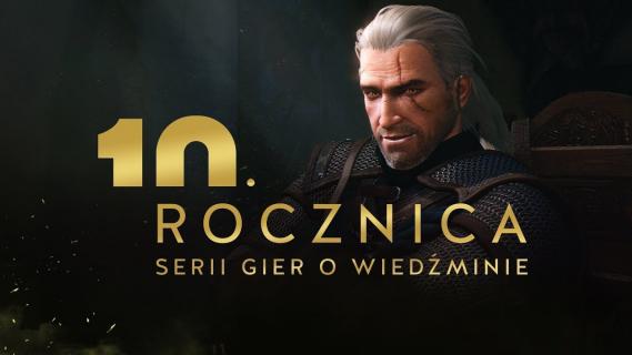 Wszystkiego najlepszego Geralt! Komputerowy Wiedźmin kończy 10 lat
