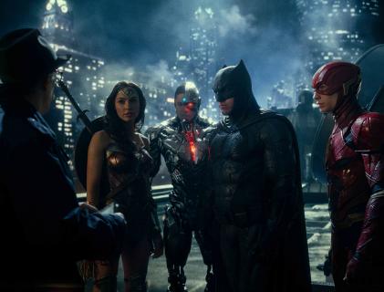 Liga Sprawiedliwości - Zack Snyder chwali się kolejnym zdjęciem ze Snyder Cut