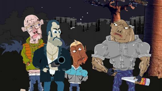 QUIZ: Jak nazywają się te postacie z animacji Kapitan Bomba, Blok Ekipa i Egzorcysta?