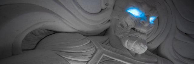 Niesamowity lodowy hotel z Finlandii dla fanów serialu Gra o tron. Zobacz zdjęcia