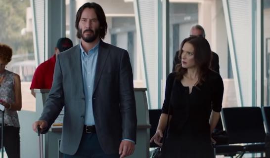 Keanu Reeves i Winona Ryder w scenie z filmu Destination Wedding. Zobacz wideo