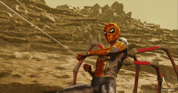 Iron Spider z filmu Avengers: Wojna bez granic mógł wyglądać jak w komiksach