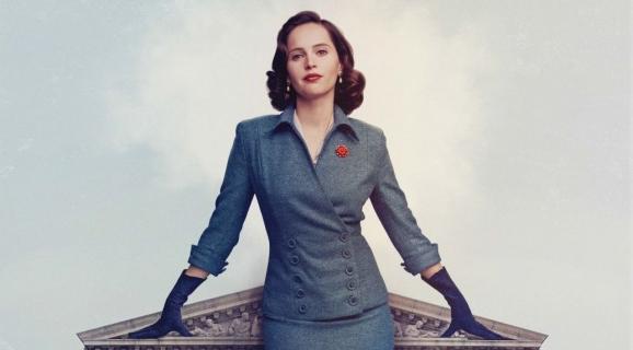 Felicity Jones w filmie On the Basis of Sex. Zobacz zwiastun i plakat