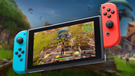 W Fortnite pogramy bez abonamentu Nintendo Switch Online