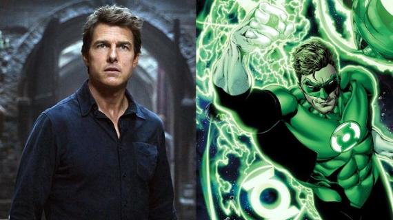 Tom Cruise jako Zielona Latarnia i The Rock jako Czarny Adam – oto fanarty
