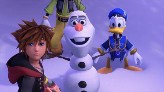 Kingdom Hearts 3 z autentycznymi głosami postaci z bajek