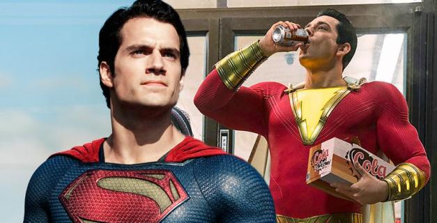 Shazam! – Superman miał być w filmie. Oto krótki opis jego cameo