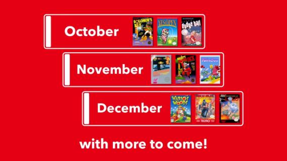 Nintendo Switch Online – zwiastun ujawnia kolejne gry, które trafią do subskrybentów