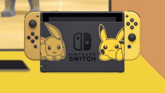 Nintendo Switch: Zobacz limitowaną wersję konsoli z Pokemonami