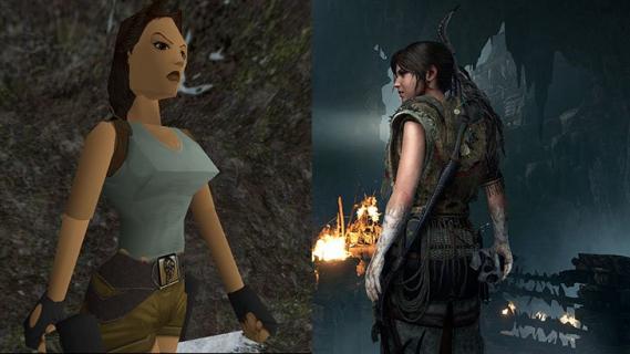 Tomb Raider: Jak Lara Croft zmieniała się przez lata