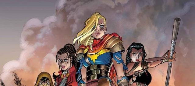 Kapitan Marvel à la Mad Max. Zobacz nowy strój bohaterki w komiksach