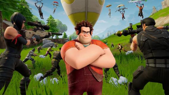 Ralph Demolka w Fortnite. Bohater pojawił się w kinie w grze