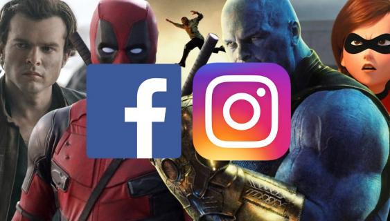 Facebook i Instagram z dużym wpływem na promocje filmów. Nowe badania