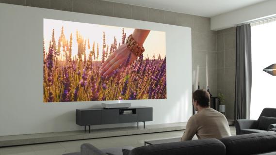 LG wprowadzi do sprzedaży laserowy rzutnik 4K ultrakrótkiego rzutu