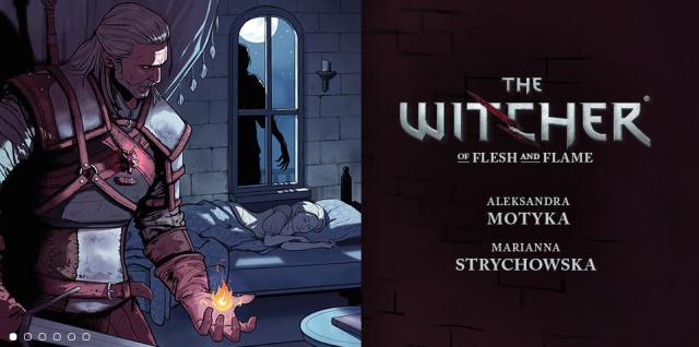 Komiks The Witcher: Of Flesh and Flame już dostępny