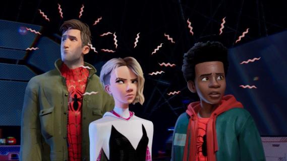Spider-Man: Uniwersum – bohaterowie filmu w słynnej scenie z Avengers. Zobacz fan-art