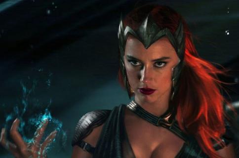Aquaman – zjawiskowa Amber Heard jako Mera na zdjęciu zza kulis